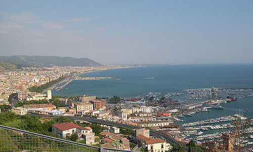 vista di Salerno
